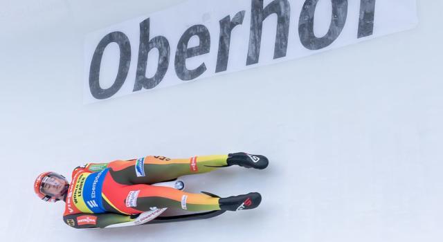 Slittino: gara pazza ad Oberhof per la pioggia. Vince Ludwig, Fischnaller nono e attaccato a Repilov