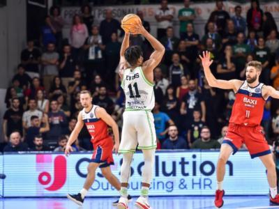 LIVE Manresa-Dinamo Sassari 61-64, Champions League basket 2020 in DIRETTA: i sardi passano in Catalogna ma chiudono secondi nel girone