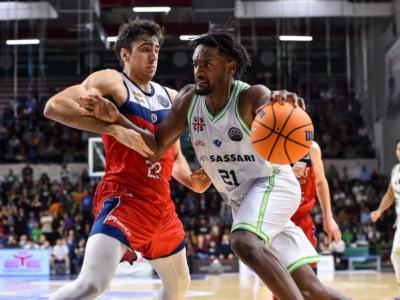 Basket, Champions League 2020: Dinamo Sassari a Manresa nell'ultima di regular season per assicurarsi il primato