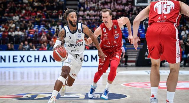 LIVE Brindisi-Olimpia Milano 74-77, Serie A basket 2020 in DIRETTA: l'Armani sbanca il PalaPentassuglia dopo una partita equilibratissima