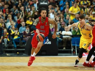 Basket, Eurolega 2020-2021: un sontuoso Daniel Hackett non basta al CSKA Mosca. Sorridono Valencia e Panathinaikos