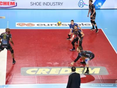 Volley, SuperLega: 21ma giornata. Civitanova e Perugia vincono, coppia al comando. Attesa per Trento-Modena