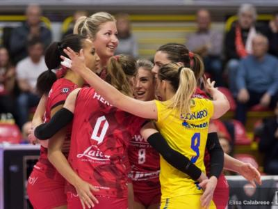 Volley femminile, Serie A1: 18ma giornata. Conegliano e Busto Arsizio vincono, Novara batte Scandicci