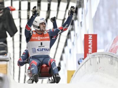 Slittino, Coppa del Mondo Winterberg 2020: nel doppio vincono Denisev/Antonov, sesti Rieder/Kainzwaldner