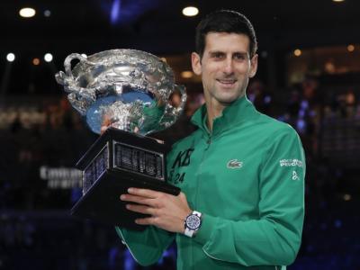 VIDEO Australian Open 2020, la cerimonia di premiazione di Novak Djokovic e Dominic Thiem