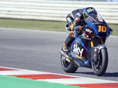 LIVE Moto2, GP Andalucia 2020 in DIRETTA: Luca Marini chiude al comando le FP2 davanti a Marco Bezzecchi
