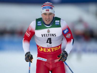 Sci di fondo: Paal Golberg resiste a Bolshunov nell'inseguimento di Oestersund, sette norvegesi nei primi otto. Il russo domina la Coppa del Mondo 2020
