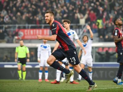 Calcio, 22ma giornata Serie A 2020: Bani regala i 3 punti al Bologna in extremis, 2-2 tra Cagliari e Parma