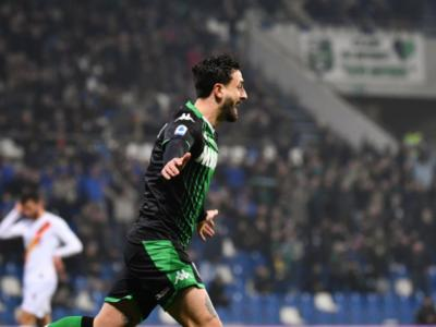 VIDEO Sassuolo-Roma 4-2, highlights, gol e sintesi della partita: Caputo la decide con una doppietta nel primo tempo