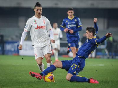 VIDEO Hellas Verona-Juventus 2-1: gol, sintesi, highlights. Cristiano Ronaldo show, Borini e Pazzini castigano la Signora
