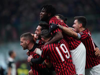 Milan-Juventus 1-1, semifinale Coppa Italia calcio 2020: Cristiano Ronaldo pareggia, Rebic e Ibrahimovic non bastano