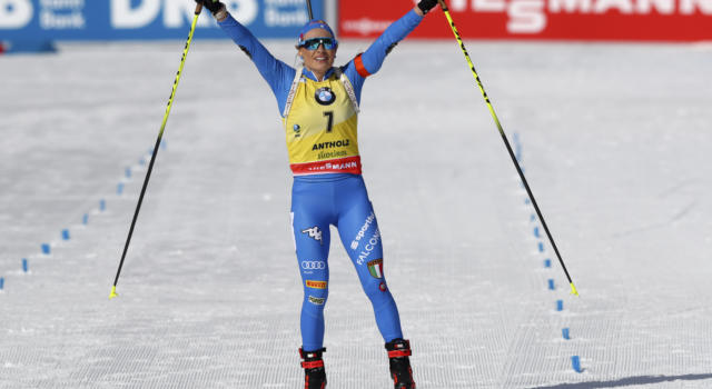 """Dorothea Wierer campionessa del mondo: """"Non ho parole, l'emozione è grande. Era un periodo di forte stress"""""""