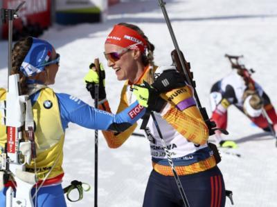 """LIVE Biathlon, Staffetta femminile Nove Mesto 2020 in DIRETTA: la Norvegia trionfa e fa """"settebello"""", sesta la migliore Italia stagionale"""