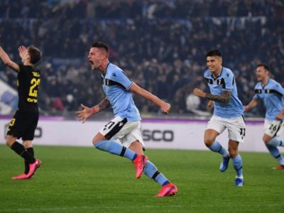 Highlights Lazio-Inter 2-1: video, gol e sintesi. Immobile e Milinkovic-Savic ribaltano la partita