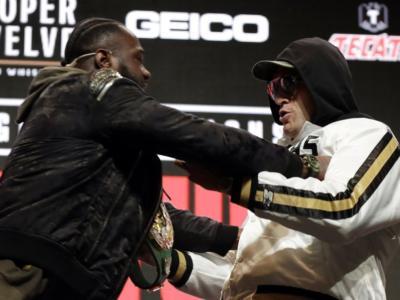 VIDEO Boxe: rissa sfiorata tra Fury e Wilder in conferenza stampa! Altissima tensione già alla vigilia