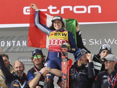 Sci alpino, Federica Brignone regala un piccolo sorriso ad un'Italia in ginocchio
