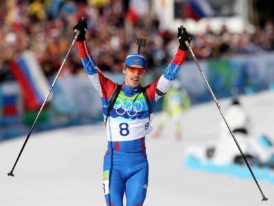 Biathlon, squalificati Evgeny Ustyugov e Svetlana Sleptsova. La Russia perde un oro a Sochi 2014!