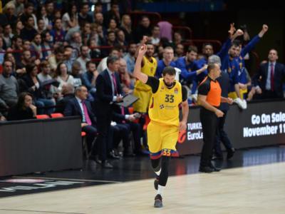 Basket, Eurolega 2020, i risultati del 27 febbraio. Mirotic fa volare il Barcellona, rimonta monstre del Maccabi