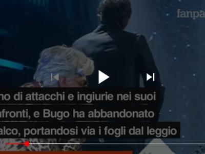 VIDEO Morgan e Bugo litigio a Sanremo: parole della canzone cambiate, ecco cosa è successo