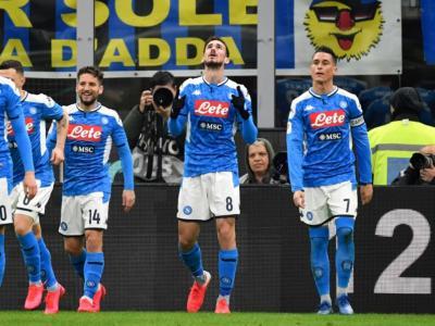 Calcio, Fabian Ruiz con una magia decide la sfida di San Siro, Inter ko e Napoli vede la Finale di Coppa Italia