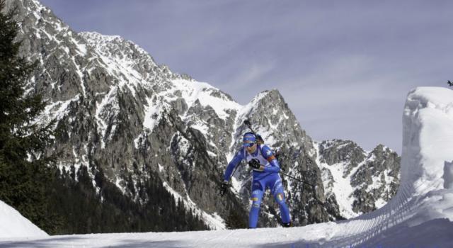 Biathlon, i convocati dell'Italia per il raduno di Anterselva: nove azzurri al lavoro