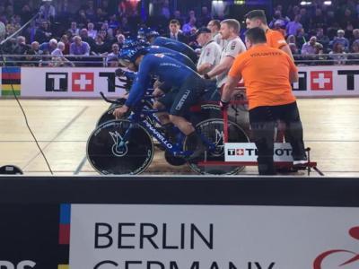 Ciclismo su pista, Mondiali 2020: i ragazzi del quartetto azzurro lottano per il bronzo! In palio quattro titoli iridati