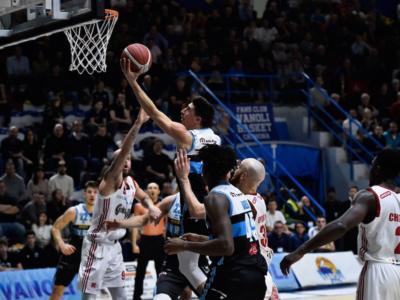 Basket, Serie A 2020: Cremona fa suo il posticipo contro Reggio Emilia per 95-93
