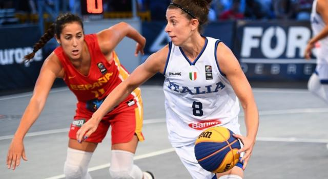 Basket femminile 3×3: definita la composizione delle due squadre italiane al torneo di Parigi