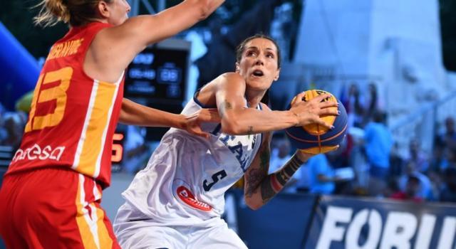 Basket femminile 3×3: Italia, debutto a Parigi con una vittoria e tre sconfitte delle due formazioni impegnate