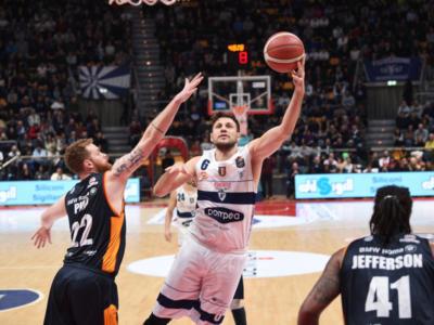 Basket, Serie A 2019-2020: la Fortitudo batte la Virtus Roma, ma nel finale rischia una clamorosa rimonta