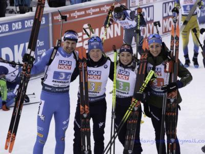 """Biathlon, Mondiali Anterselva 2020. Vittozzi: """"Mi sento molto fiduciosa, ho gestito bene"""". Wierer: """"Una bella performance, domani bisogna resettare per la sprint"""""""