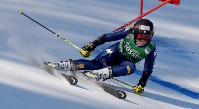 Sci alpino, Valentina Cillara Rossi termina la stagione: troppo dolore al ginocchio