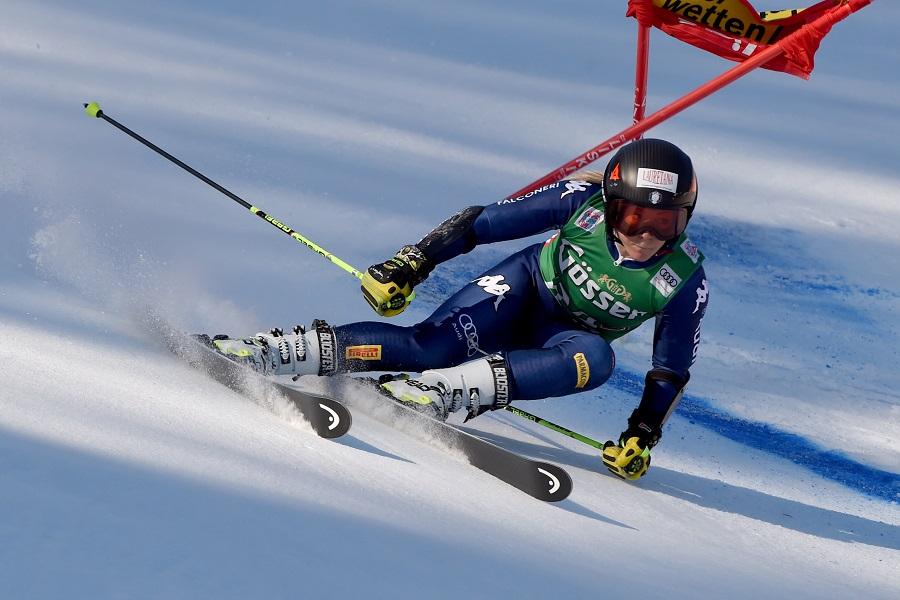 Sci alpino    Valentina Cillara Rossi termina la stagione    troppo dolore al ginocchio