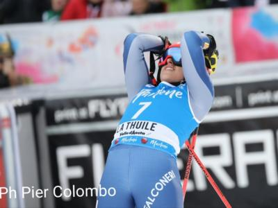 Sci alpino, Federica Brignone seconda a un maledetto centesimo da Ortlieb nel superG di La Thuile. L'azzurra allunga in classifica generale