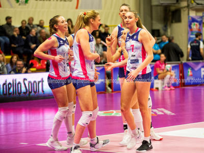 Volley femminile, Supercoppa Italiana 2020: Scandicci e Novara al secondo turno, ok Monza e Chieri