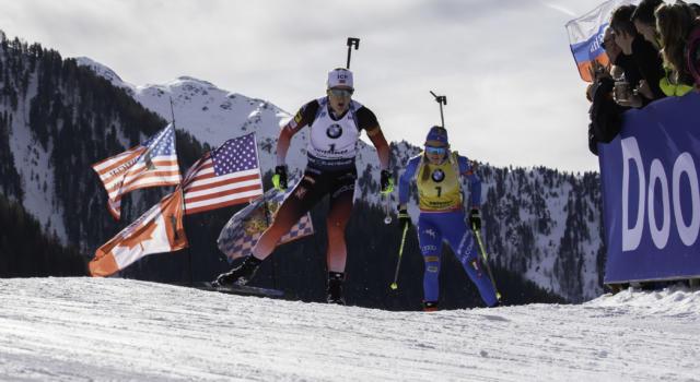 Biathlon, Marte Røiseland beffa una commovente Dorothea Wierer e trionfa nella mass start dei Mondiali 2020