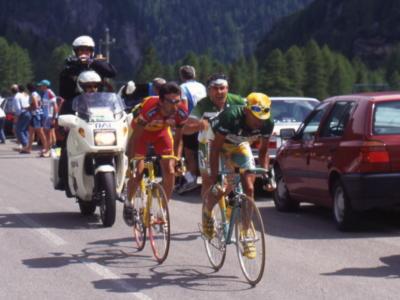 Giro d'Italia 1998: il terzo posto di Giuseppe Guerini e la memorabile fuga con Marco Pantani sulle Alpi che ribaltò la corsa