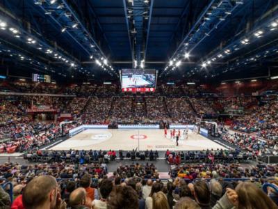 Basket: Olimpia Milano-Real Madrid di Eurolega e Brescia-Venezia di EuroCup a porte chiuse per coronavirus