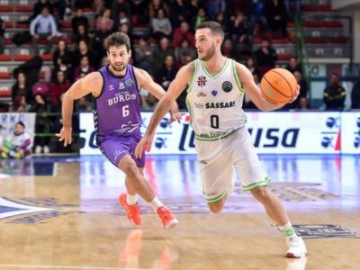 Basket: Burgos-Dinamo Sassari si giocherà stasera a porte chiuse. Salvata in extremis gara-2 degli ottavi di Champions League 2020