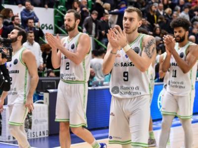 Basket: la Dinamo Sassari torna ad Alghero e non giocherà gara2 degli ottavi di Champions League a Burgos