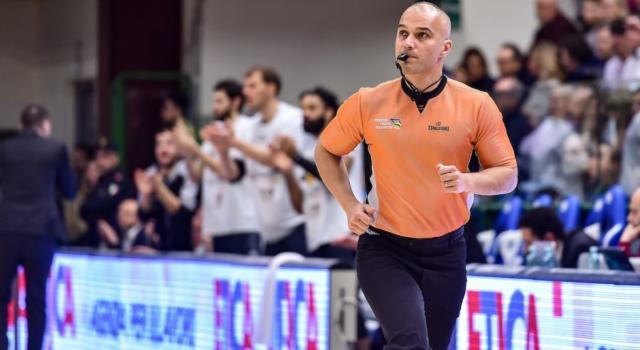 Basket: Saverio Lanzarini unico arbitro italiano alle Olimpiadi di Tokyo 2020