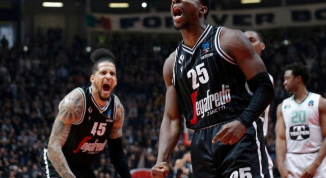 Basket: Darussafaka-Virtus Bologna, ufficiale il rinvio a domani a Belgrado a porte chiuse del match decisivo di EuroCup 2020