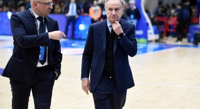 """Basket, Gianni Petrucci """"Virtus Bologna sconfitta a tavolino in EuroCup se non può andare a Istanbul? Euroleague, persone senza cultura sportiva"""""""