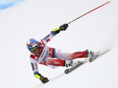 Sci alpino, Alexis Pinturault domina la prima manche del gigante di Hinterstoder, Kristoffersen e Kilde inseguono, 7° De Aliprandini
