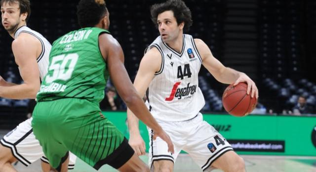 Basket: Virtus Bologna ai quarti di EuroCup 2020! Teodosic segna e inventa, Darussafaka battuto sul neutro di Belgrado