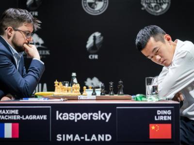 Scacchi, Day-2 Torneo Candidati 2020: Fabiano Caruana e Maxime Vachier-Lagrave vincono e convincono. Avvio da incubo per Ding Liren