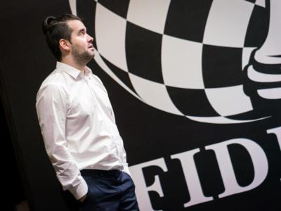 Scacchi, Torneo dei Candidati 2020: Nepomniachtchi difende il primato contro Ding Liren, Vachier-Lagrave e Caruana all'inseguimento