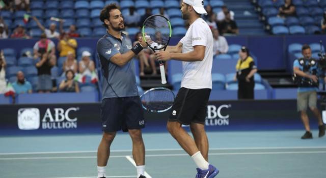 Coppa Davis 2020: Fabio Fognini e Simone Bolelli giocheranno il doppio dell'Italia con la Corea del Sud