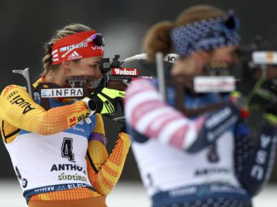 Biathlon, Denise Herrmann è ingiocabile nella sprint di Nove Mesto 2020. Marketa Davidová sale sul podio di casa, Dorothea Wierer scarta il 24° posto