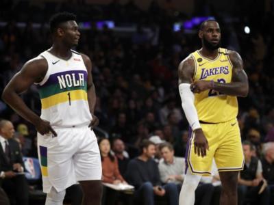 NBA 2020: LeBron James batte Zion Williamson, show di Antetokounmpo. Vittorie pesanti per Clippers e Nuggets